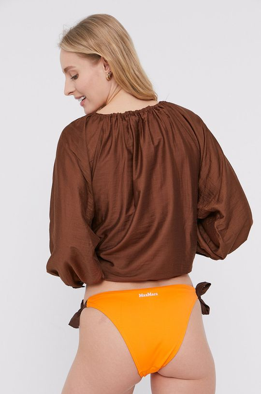 Max Mara Leisure - Koszula plażowa brązowy