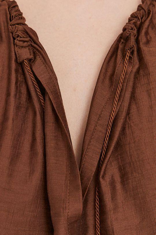brązowy Max Mara Leisure - Koszula plażowa