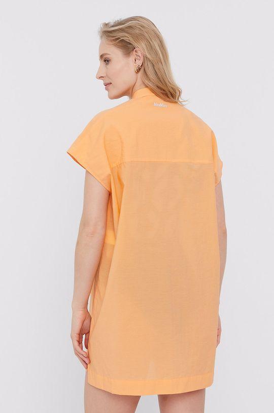 Max Mara Leisure - Sukienka plażowa pomarańczowy