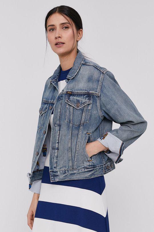 Polo Ralph Lauren - Geaca jeans  75% Bumbac, 25% Lyocell