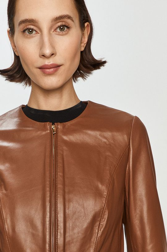 hnedá Pennyblack - Kožená bunda