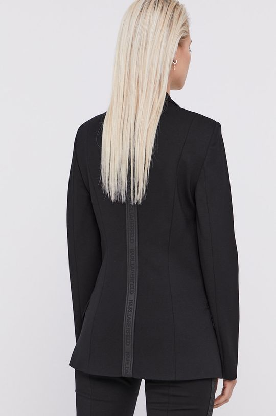 Karl Lagerfeld - Sako  Podšívka: 31% Polyester, 69% Viskóza Hlavní materiál: 5% Elastan, 35% Polyamid, 60% Viskóza