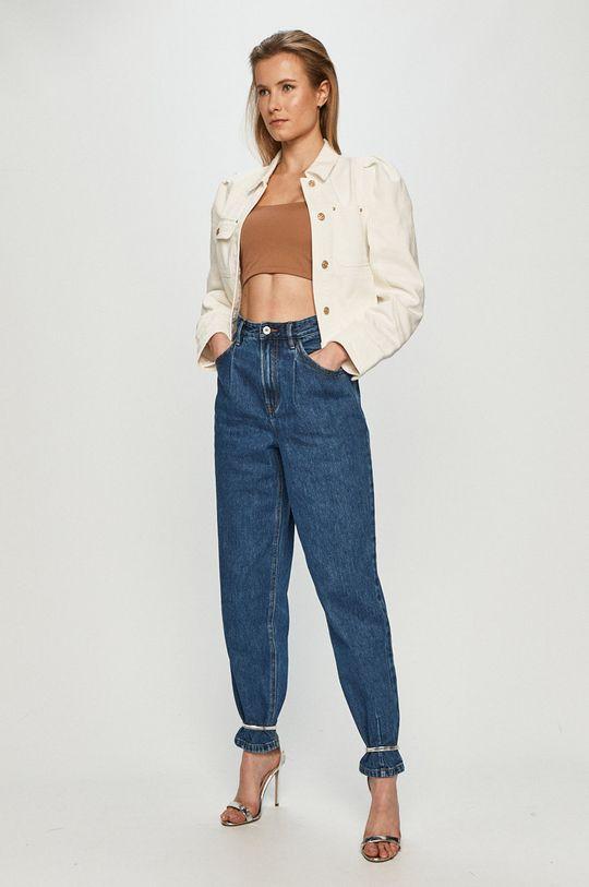 Miss Sixty - Geaca jeans alb
