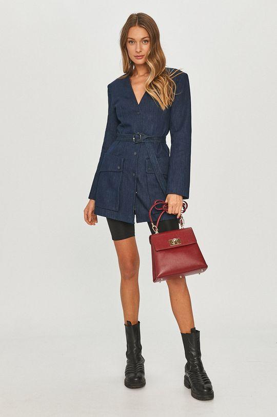 Miss Sixty - Rifľový kabát tmavomodrá