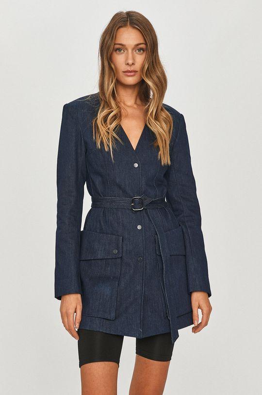 tmavomodrá Miss Sixty - Rifľový kabát