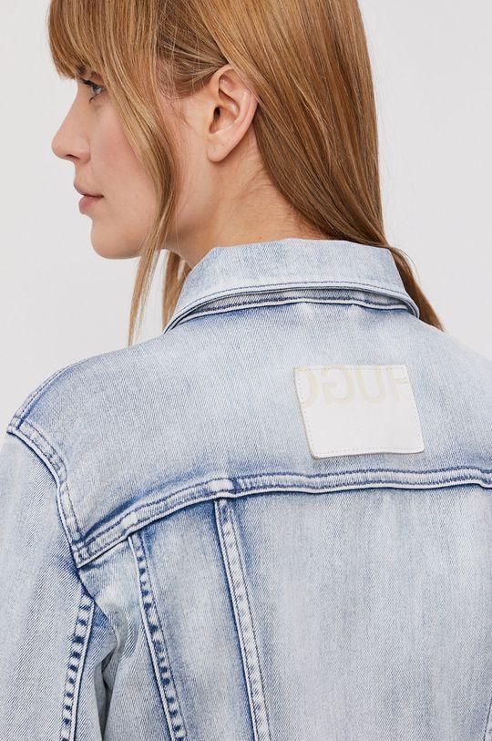 jasny niebieski Hugo - Kurtka jeansowa