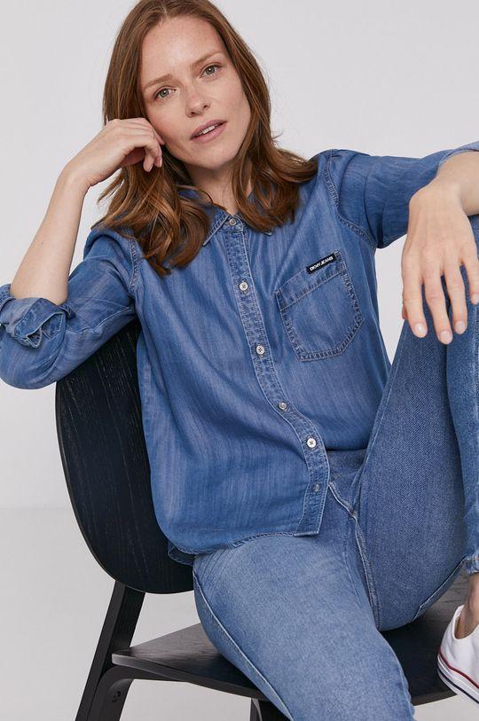 niebieski Dkny - Koszula