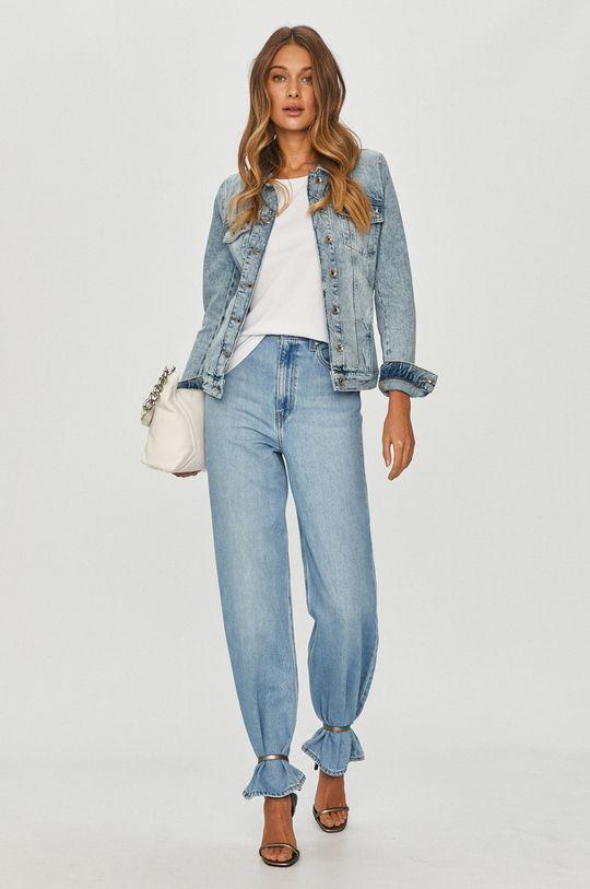 Patrizia Pepe - Kurtka jeansowa jasny niebieski