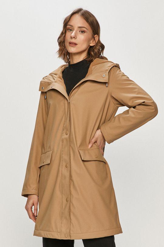 béžová Vero Moda - Nepromokavá bunda Dámský
