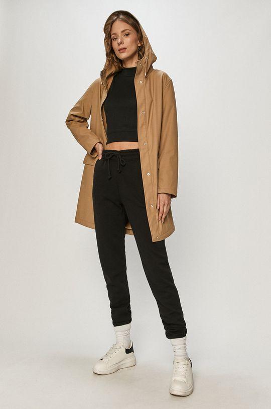 Vero Moda - Nepromokavá bunda béžová