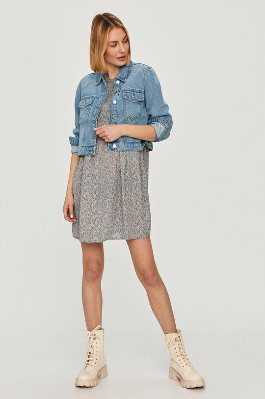 Vero Moda - Rifľová bunda modrá