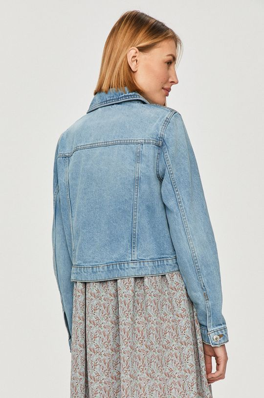 Vero Moda - Rifľová bunda  35% Bavlna, 65% Organická bavlna