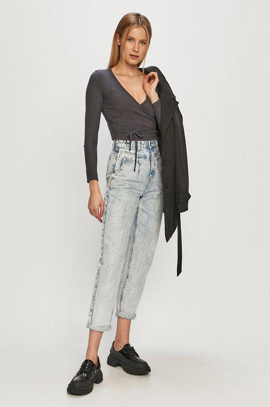Vero Moda - Trench kabát černá
