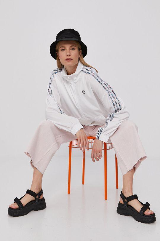 biały adidas Originals - Kurtka Damski