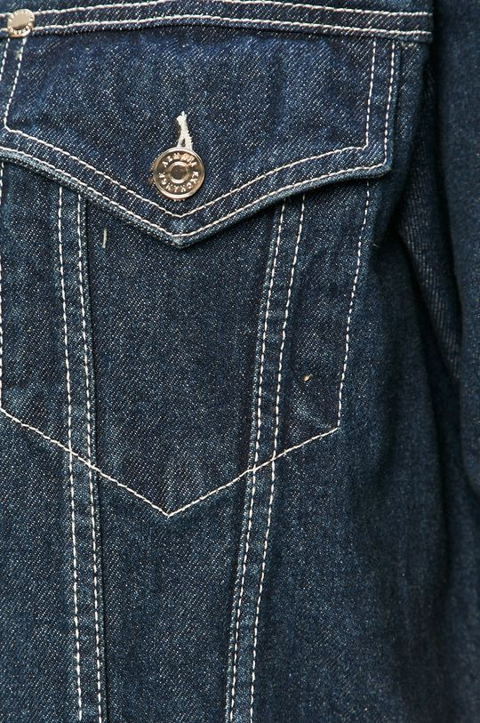 modrá Armani Exchange - Rifľová bunda