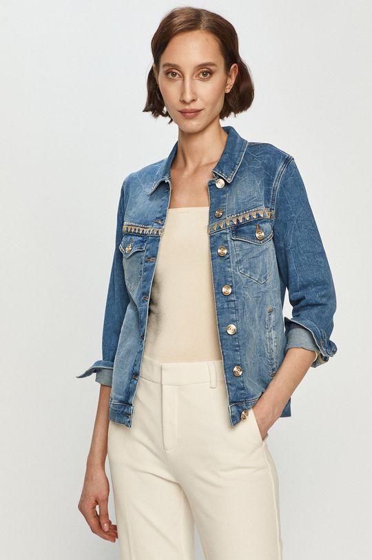 niebieski Mos Mosh - Kurtka jeansowa Damski