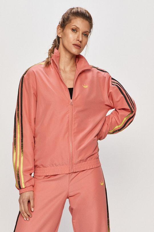 ostry różowy adidas Originals - Kurtka Damski