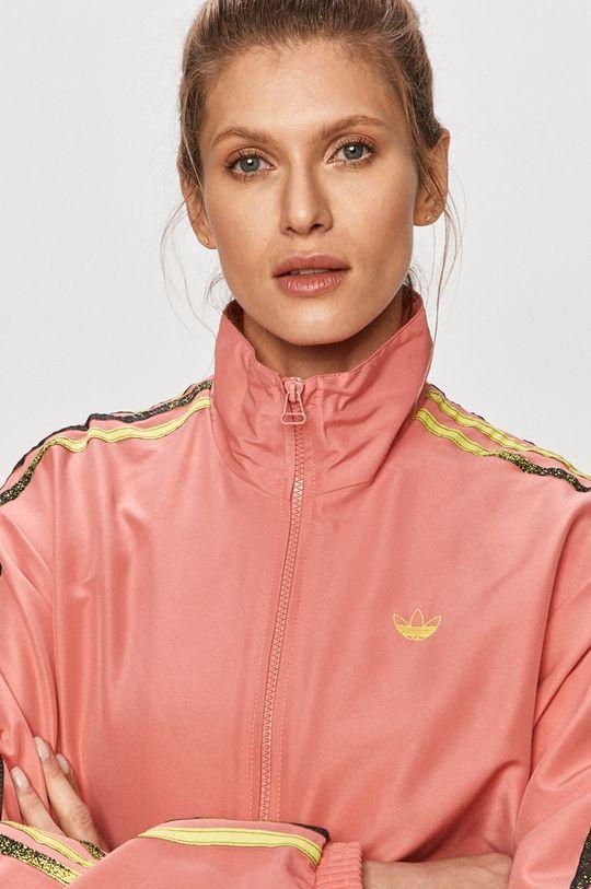 ostry różowy adidas Originals - Kurtka