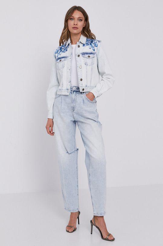 Twinset - Kurtka jeansowa jasny niebieski