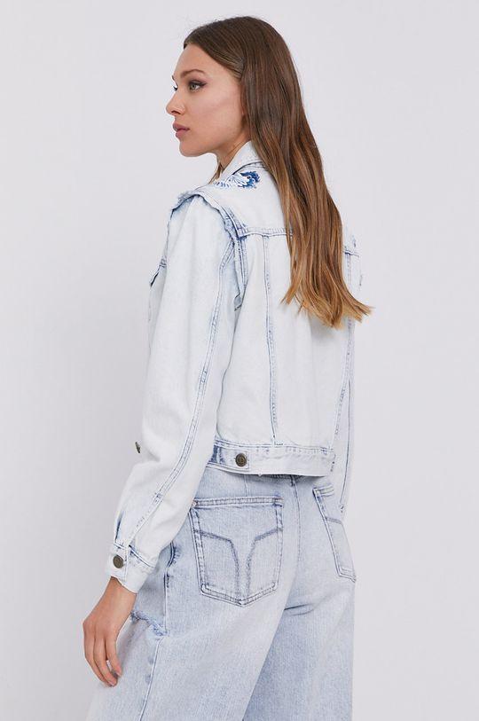 Twinset - Kurtka jeansowa Materiał zasadniczy: 100 % Bawełna, Wykończenie: 100 % Poliester, Haft: 50 % Bawełna, 50 % Poliester