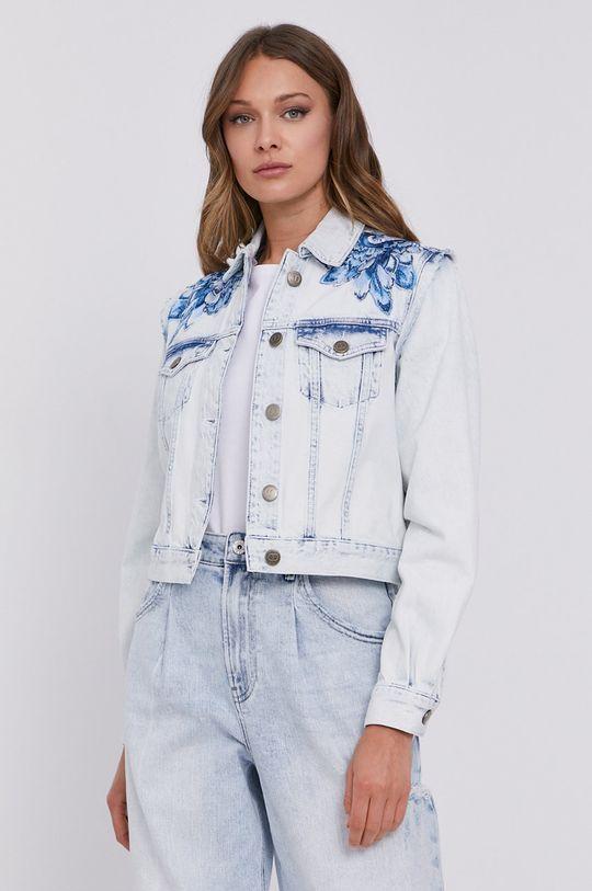 jasny niebieski Twinset - Kurtka jeansowa