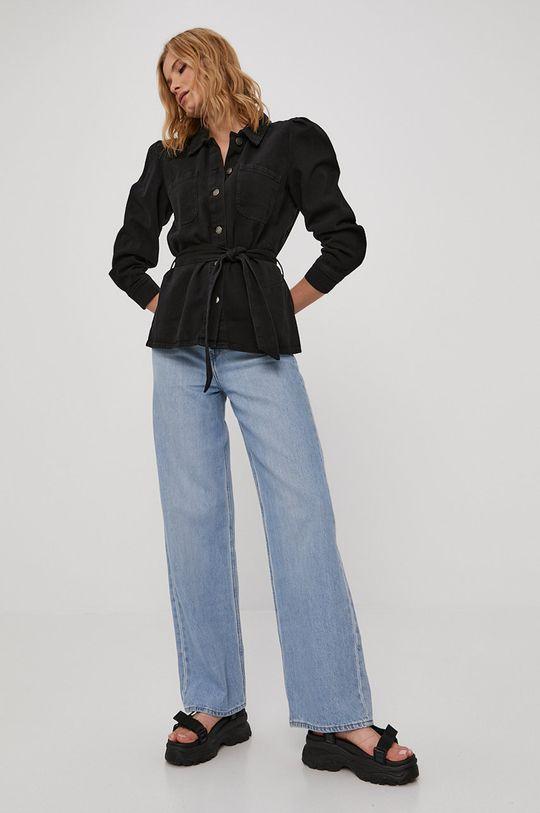 Only - Kurtka jeansowa czarny