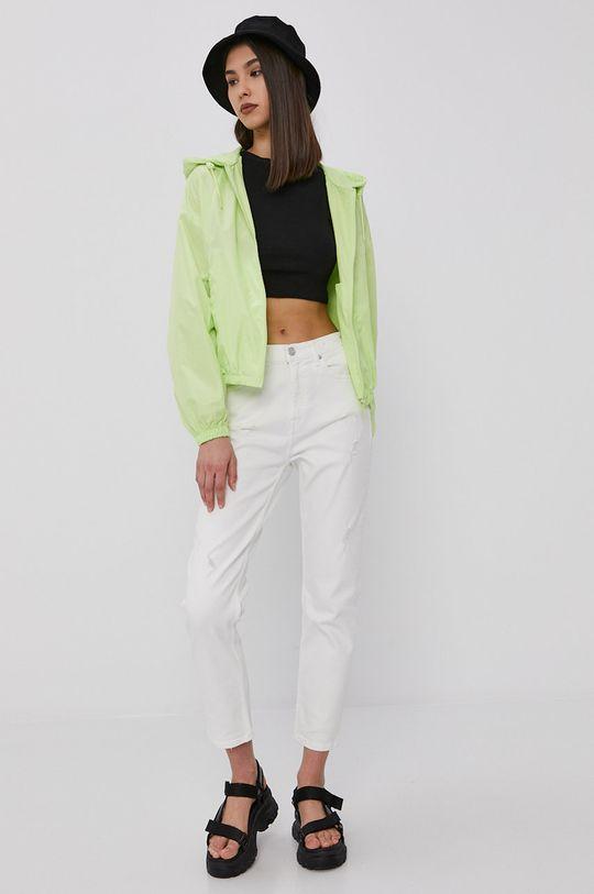 Tommy Jeans - Bunda žlutě zelená