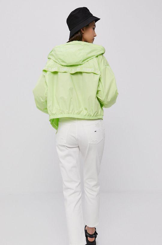 žlutě zelená Tommy Jeans - Bunda