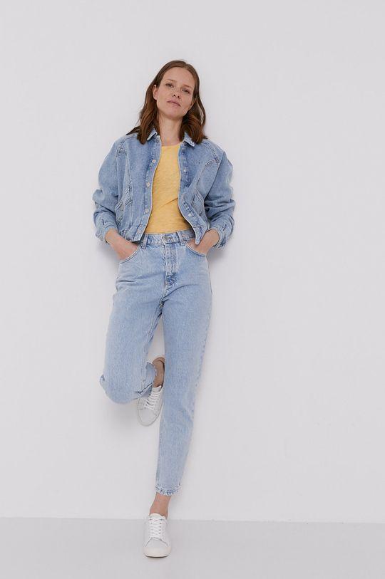 Tommy Jeans - Kurtka jeansowa jasny niebieski