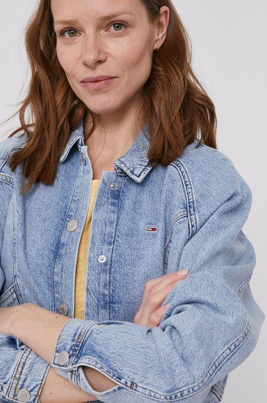 jasny niebieski Tommy Jeans - Kurtka jeansowa