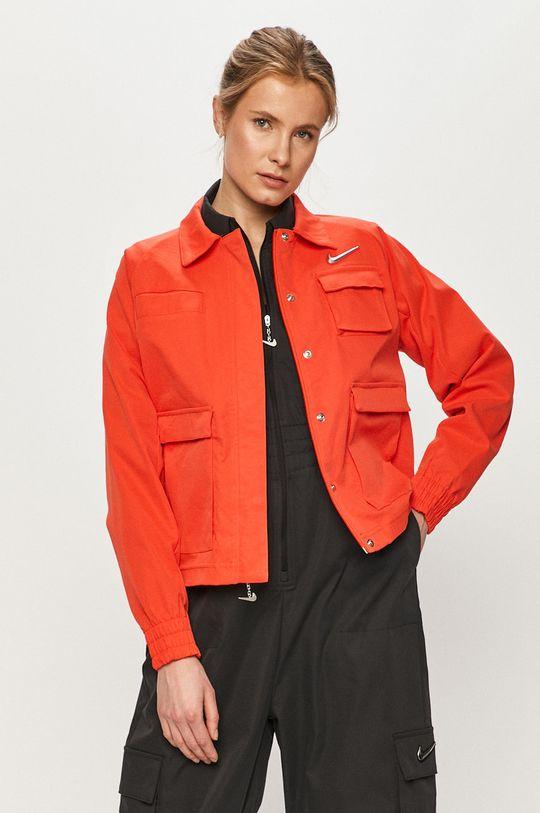 czerwony Nike Sportswear - Kurtka Damski