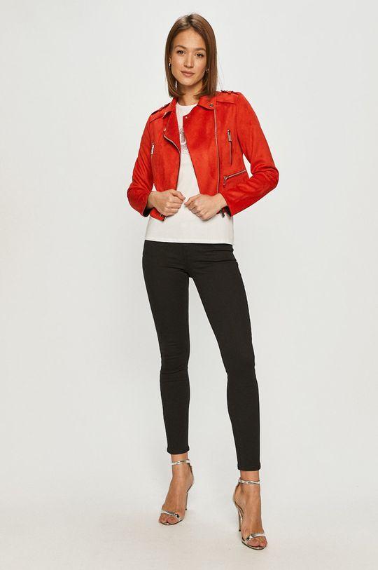 Morgan - Ramoneska czerwony