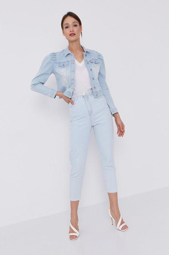 jasny niebieski Morgan - Kurtka jeansowa Damski