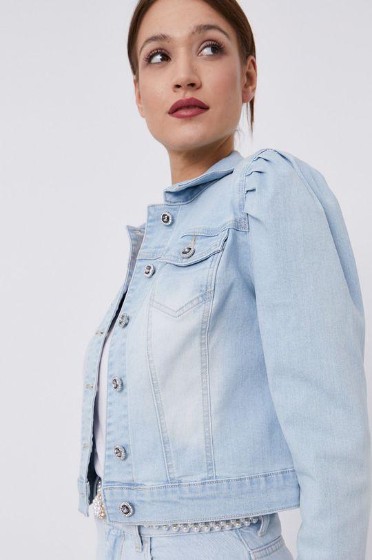 jasny niebieski Morgan - Kurtka jeansowa