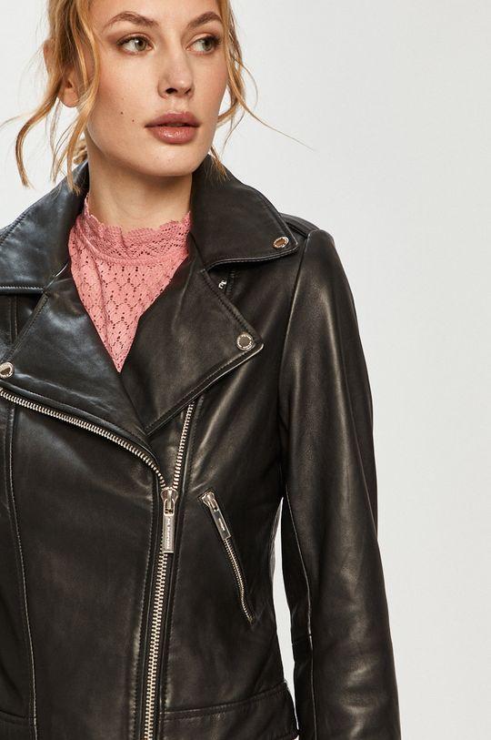 čierna Morgan - Kožená bunda