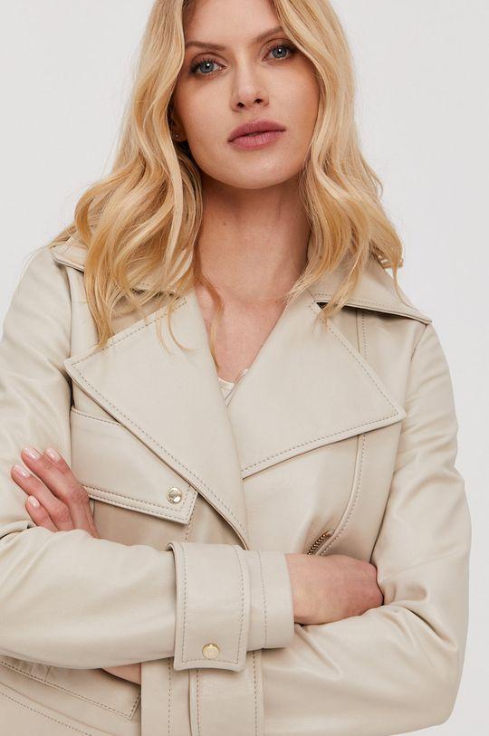 béžová Trussardi - Kožená bunda