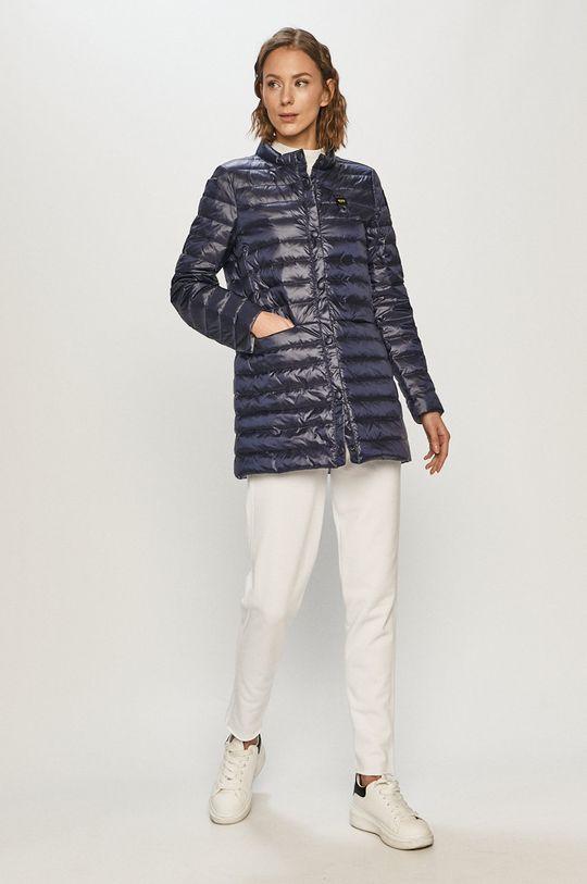 Blauer - Péřová bunda námořnická modř