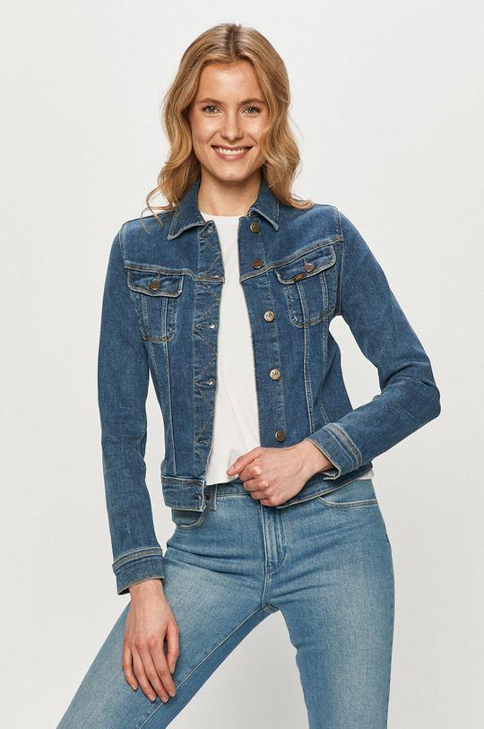 niebieski Lee - Kurtka jeansowa Damski