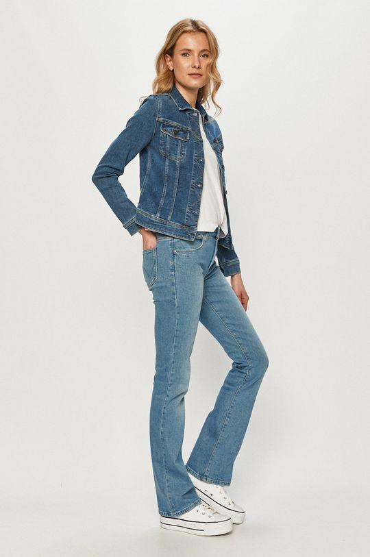 Lee - Kurtka jeansowa niebieski