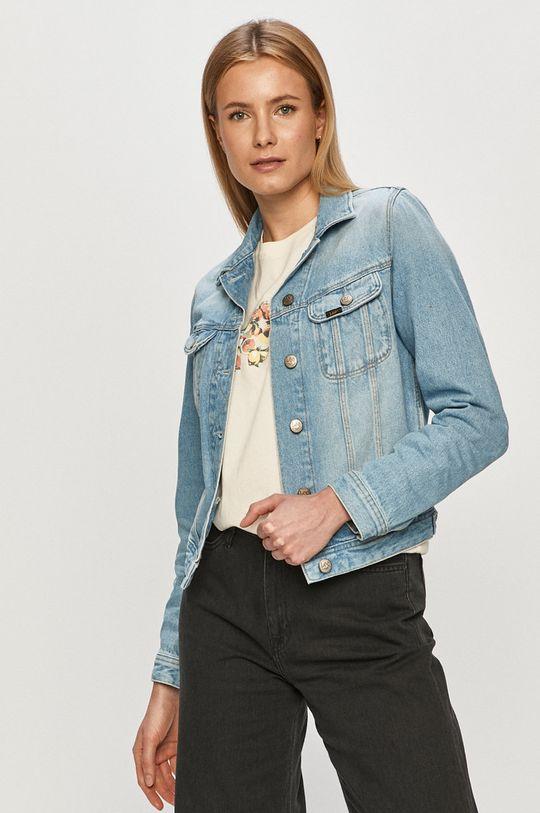 jasny niebieski Lee - Kurtka jeansowa Damski