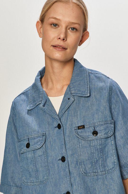 jasny niebieski Lee - Koszula