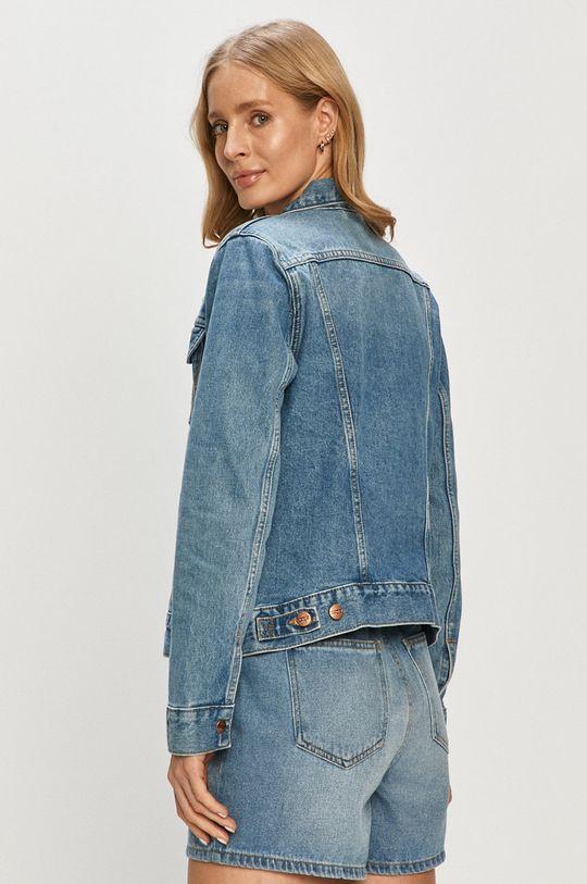 Wrangler - Kurtka jeansowa 100 % Bawełna