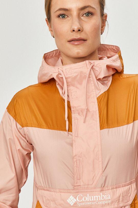 ярко-розовый Columbia - Куртка