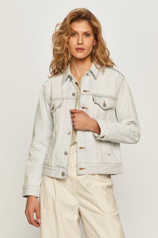 blady niebieski Levi's - Kurtka jeansowa Damski