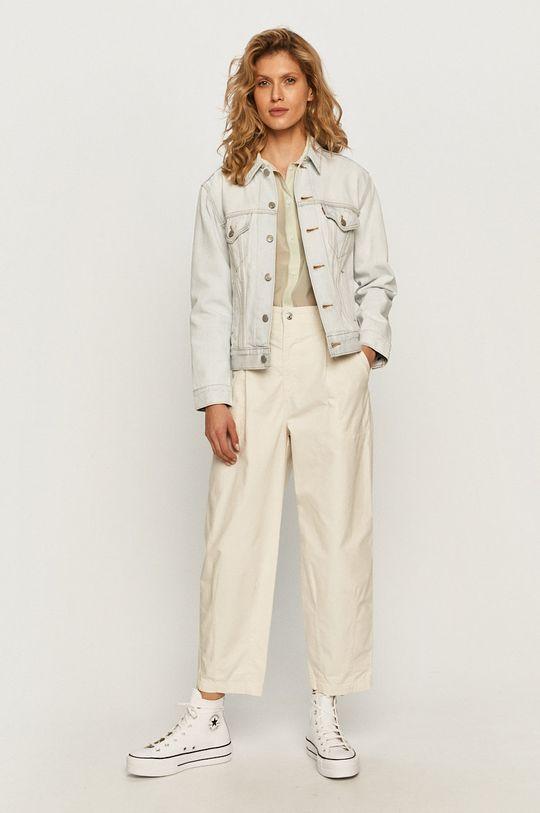 Levi's - Kurtka jeansowa blady niebieski