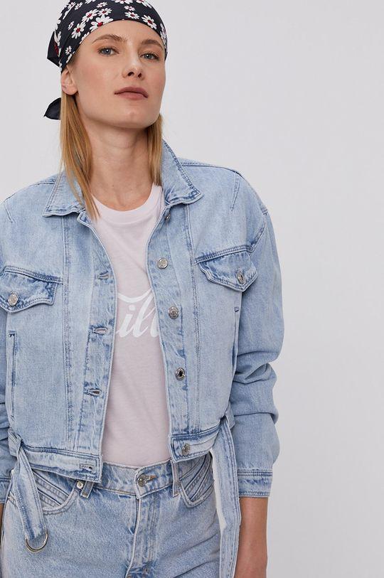 jasny niebieski Tally Weijl - Kurtka jeansowa Damski