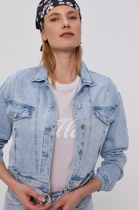 jasny niebieski Tally Weijl - Kurtka jeansowa