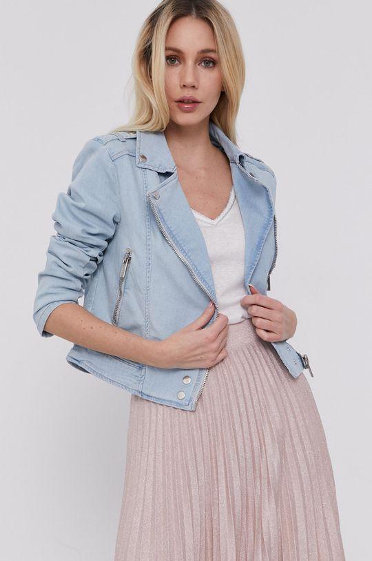 niebieski Morgan - Kurtka jeansowa Damski