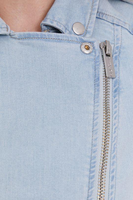 niebieski Morgan - Kurtka jeansowa