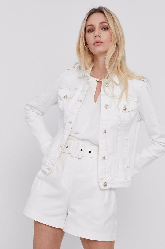 Morgan - Kurtka jeansowa biały